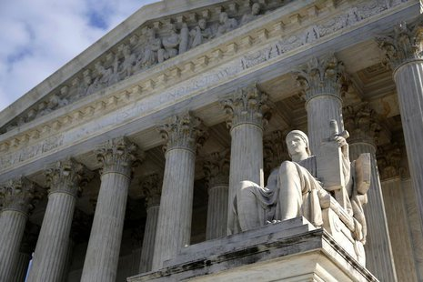 A general view of the U.S. Supreme Court in Washington December 3, 2013. REUTERS/Jonathan Ernst