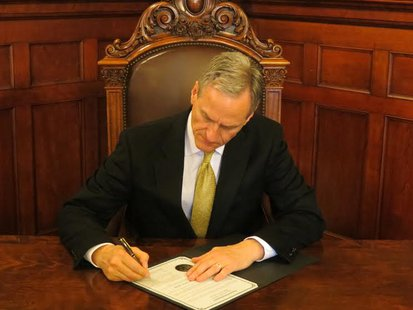 Gov. Dennis Daugaard signed more bills into law (KELO File)