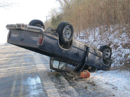 03-05 southern Vigo County Accident pic 1 provided by Vigo County Sheriff