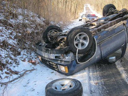 03-05 southern Vigo County Accident pic 3 provided by Vigo County Sheriff