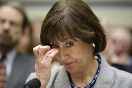 U.S. Internal Revenue Service Director of Exempt Organizations Lois Lerner waits before a House Oversight and Government Reform Committee he