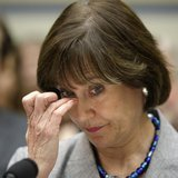 U.S. Director of Exempt Organizations for the Internal Revenue Service (IRS) Lois Lerner waits to testify at a House Oversight and Governmen