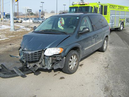 03-05 7th and Springhill accident photo 2 provided by Vigo County Sheriff