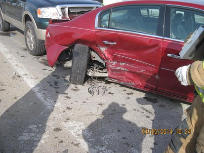 03-05 7th and Springhill accident photo 1 provided by Vigo County Sheriff