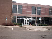 Portage County Library  Photo: Wikipedia