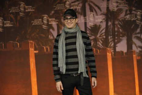 U.S. film director Darren Aronofsky poses during a photocall at the 12th Marrakesh International Film Festival in Marrakesh December 3, 2012