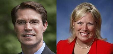 Sean McCann and Margaret O'Brien will likely square off in November, barring any surprises in the August primary.