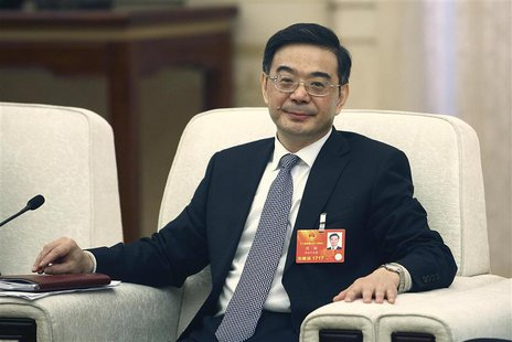 Zhou Qiang, President of China's Supreme People's Court, attends National People's Congress (NPC) in Beijing, March 7, 2013. REUTERS/Stringe