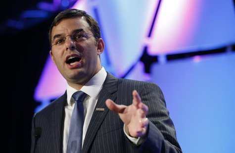 U.S. Rep. Justin Amash (R-MI) speaks at the Liberty Political Action Conference (LPAC) in Chantilly, Virginia September 19, 2013. REUTERS/Ke