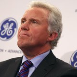 Jeff Immelt, Chairman and CEO of General Electric appears at a news conference announcing the Head Health Initiative along with the National