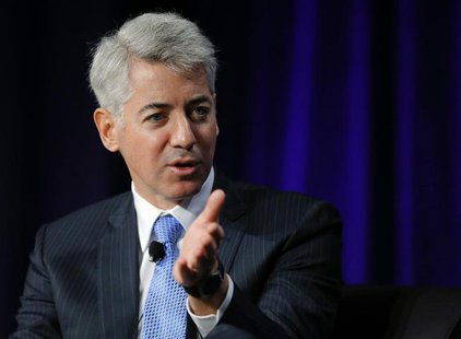 William Ackman, CEO of Pershing Square Capital Management, speaks at the Partner Connect 2013 conference, sponsored by Thomson Reuters, in B