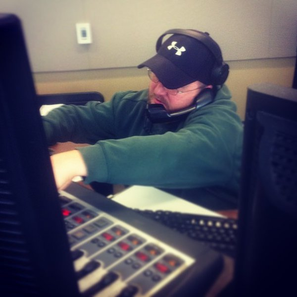 Behind the scenes of The Jerry Bader Show - Jason handles all incoming callers