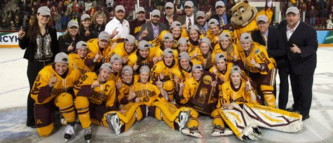 Gopher Women's hockey team