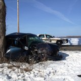 17 year old crashes pick-up truck into tree in Branch County's Union Township after receiving text March 9, 2014