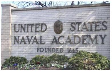 O'Gorman's Isaac Althoff receives an appointment to the U.S. Naval Academy. (US.Navy.mil)