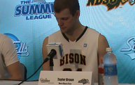 Bison Men Beat Denver 83-48  4