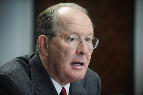 U.S. Senator Lamar Alexander (R-TN) speaks during the Reuters Washington Summit in Washington November 9, 2011. REUTERS/Jonathan Ernst