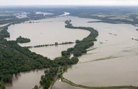 Missouri River flooding in 2013