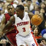 Detroit Pistons guard Rodney Stuckey REUTERS/Rebecca Cook