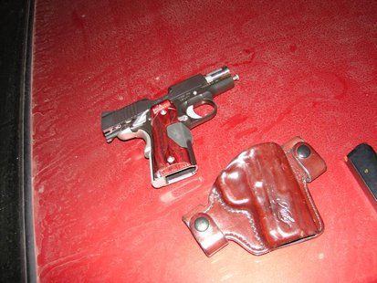 gun seized  pic provided by Indiana State Police
