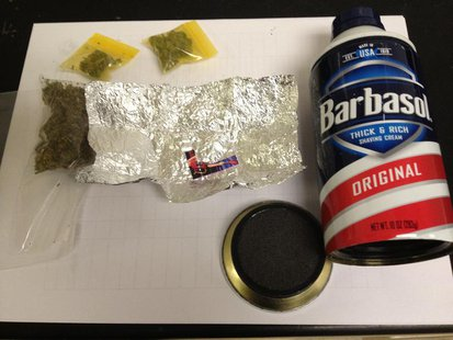 drug items seized pic provided by Indiana State Police