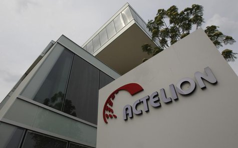 A general view shows Swiss biotech group Actelion Headquarters in Allschwil near Basel, April 23, 2011. REUTERS/Christian Hartmann