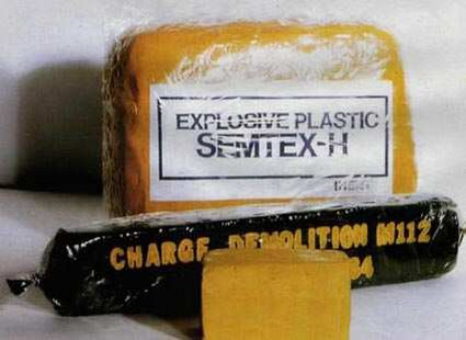 Semtex plastic explosives - By Garnix at de.wikipedia [Public domain], from Wikimedia Commons