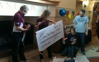 Rosewood Homes Presents Check to Children's Miracle Network 4