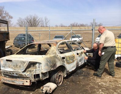 Car recovered by Vigo County Sheriff pic 2 provided by Vigo County Sheriff