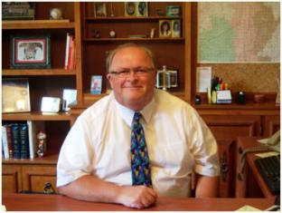 Bronson Schools Superintendent Jim Modert