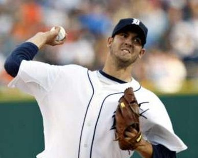 Listen to Detroit Tigers baseball on 1450 WHTC as Rick Porcello is on the mound. REUTERS/Rebecca Cook