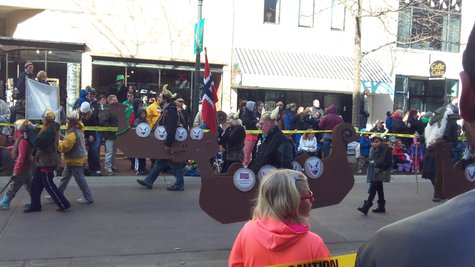 Even Vikings were welcome to this Parade.