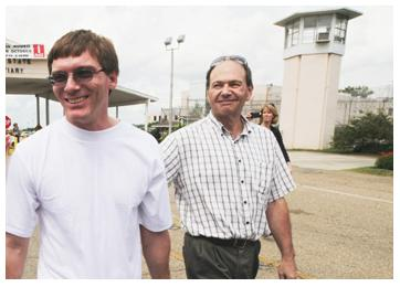 Damon Thibodeaux walked out of Death Row at Louisiana's Angola Prison a free man. (USD.edu)