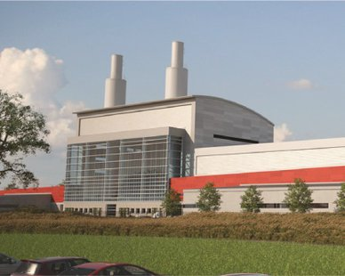An artist's rendition of the proposed new Holland BPW power plant (courtesy Holland BPW)