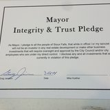 Mayor Integrity and Trust Pledge