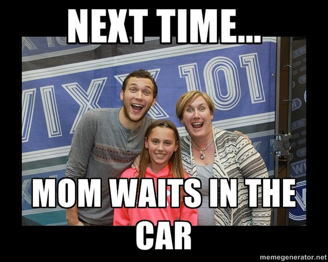 Next Time... Mom Waits in the Car