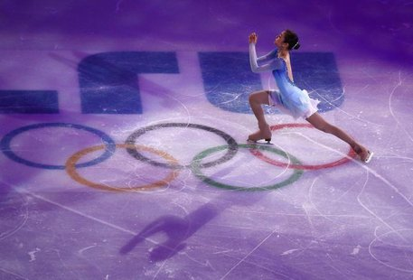 South Korea's Kim Yuna performs during the Figure Skating Gala Exhibition at the 2014 Sochi Winter Olympics February 22, 2014. REUTERS/David