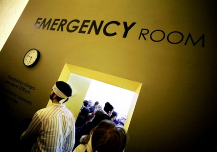 Picture of the artwork Emergency Room by French-Danish artist Thierry Geoffroy By Thierry Geoffroy (Thierry Geoffroy) [CC-BY-SA-3.0 (http://creativecommons.org/licenses/by-sa/3.0)], via Wikimedia Commons
