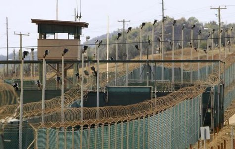 The exterior of Camp Delta is seen at the U.S. Naval Base at Guantanamo Bay, March 6, 2013. CREDIT: REUTERS/BOB STRONG