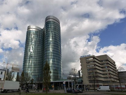An exterior view of the headquarters of Rabobank in Utrecht October 30, 2013. REUTERS/Michael Kooren