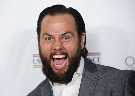 Founder of Maker Studios Shay Carl arrives at the U.S.-Ireland Alliance pre-Academy Awards event in Santa Monica, California February 27, 20