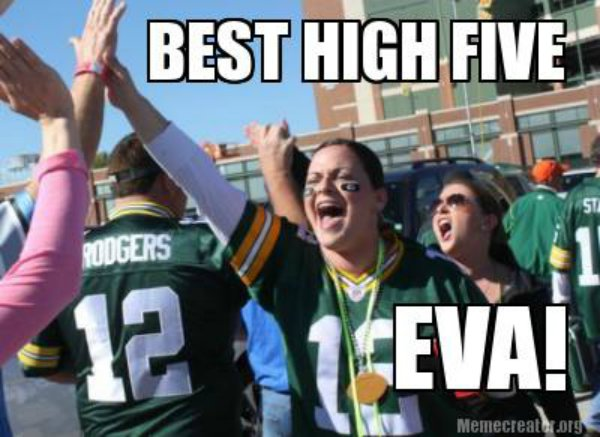 Best High Five Eva!