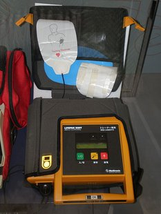 AED device in use in Vigo County Sheriff's cars