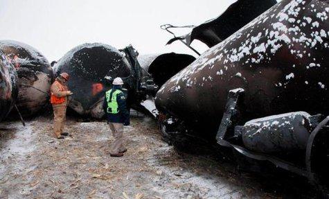 Casselton trail derailment