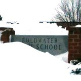 Coldwater High School sign March 12, 2014