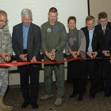 Governor Snyder was on hand for the grand opening of the facility at the Fort Custer Air National Guard Base.