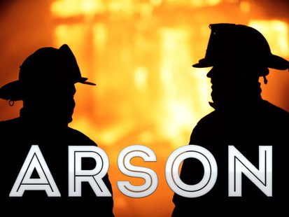 Arson graphic copyright Midwest Communications, Inc.