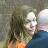 Jessica Anne Strom with attorney James Runyon in court.  Photo: WSAU