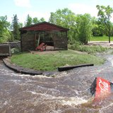 2012 Flood at Lake Superior Zoo