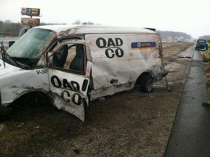 3-25-14 I-70 Accident photo 2 courtesy Indiana State Police